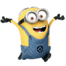 96x96px size png icon of Minion Happy