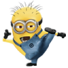 96x96px size png icon of Minion Kungfu
