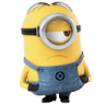 96x96px size png icon of Minion Sad