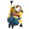 96x96px size png icon of Minion Superman