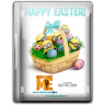96x96px size png icon of Happy Easter