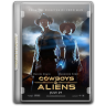 96x96px size png icon of Cowboys Aliens v9