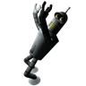 96x96px size png icon of Futurama Bender 1