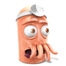 96x96px size png icon of Dr. Zoidberg