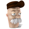 96x96px size png icon of Scruffy