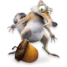 96x96px size png icon of Ice Age Scrat 2