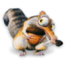 96x96px size png icon of Ice Age Scrat