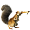 96x96px size png icon of Scrat