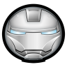 96x96px size png icon of Iron Man Mark II 01