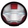 96x96px size png icon of Iron Man Mark V 01