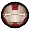 96x96px size png icon of Iron Man Mark VI 01