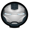96x96px size png icon of Iron Man War Machine 01