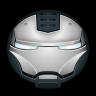 96x96px size png icon of Iron Man War Machine 01