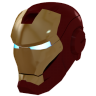 96x96px size png icon of Ironman Mask 1 Gold