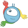 96x96px size png icon of monster chrome