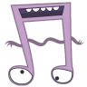 96x96px size png icon of monster music