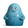 96x96px size png icon of Cute Blue Monsters