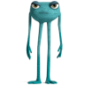 96x96px size png icon of Monsters 5