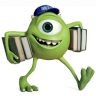 96x96px size png icon of Monsters Character Young Mikes