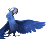 96x96px size png icon of Rio2 Blu 2
