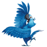 96x96px size png icon of Rio2 Blu 4