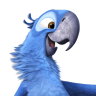 96x96px size png icon of Rio2 Blu