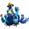 96x96px size png icon of Rio2 Family