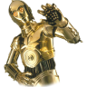 96x96px size png icon of C3PO