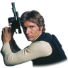 96x96px size png icon of Han Solo 02