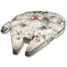 96x96px size png icon of Millenium Falcon 01