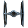 96x96px size png icon of Tie Fighter 03