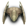 96x96px size png icon of DridStarFighter