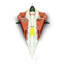 96x96px size png icon of JediStarFighter