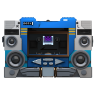 96x96px size png icon of Transformers Soundwave no tape front