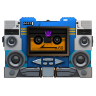 96x96px size png icon of Transformers Soundwave tape front