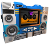 96x96px size png icon of Transformers Soundwave tape side