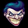 96x96px size png icon of Comics Batman Joker