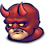 96x96px size png icon of Comics Face Afraid