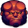 96x96px size png icon of Comics Hellboy