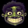 96x96px size png icon of Comics Hulk Happy