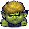 96x96px size png icon of Comics Hulkling Sulking
