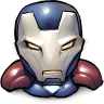 96x96px size png icon of Comics Iron America