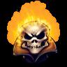 96x96px size png icon of Comics Jonny Blaze 2