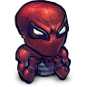96x96px size png icon of Comics Spiderman Baby