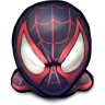 96x96px size png icon of Comics Spiderman Morales