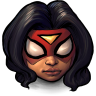 96x96px size png icon of Comics Spiderwoman