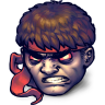 96x96px size png icon of Street Fighter Dark Hadou