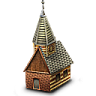 96x96px size png icon of chalet