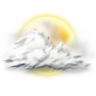96x96px size png icon of sunny partly
