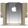 96x96px size png icon of Apple Store Louvre Front